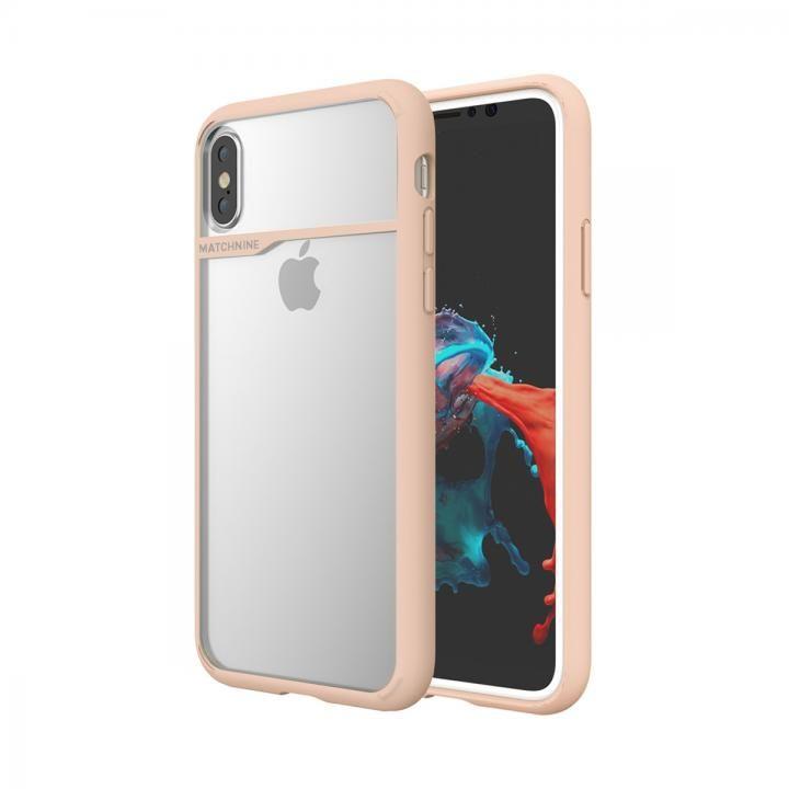 【iPhone XS/Xケース】Matchnine BOIDO ペイルドッグ ウッドピンク iPhone XS/X_0