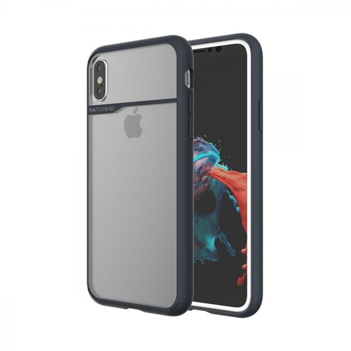 iPhone XS/X ケース Matchnine BOIDO ネイビーブルー(ハーフミラー) iPhone XS/X_0