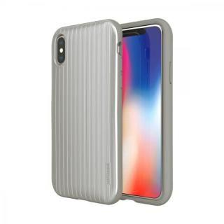 iPhone XS/X ケース Matchnine PINTA CARRIER シルバー iPhone XS/X