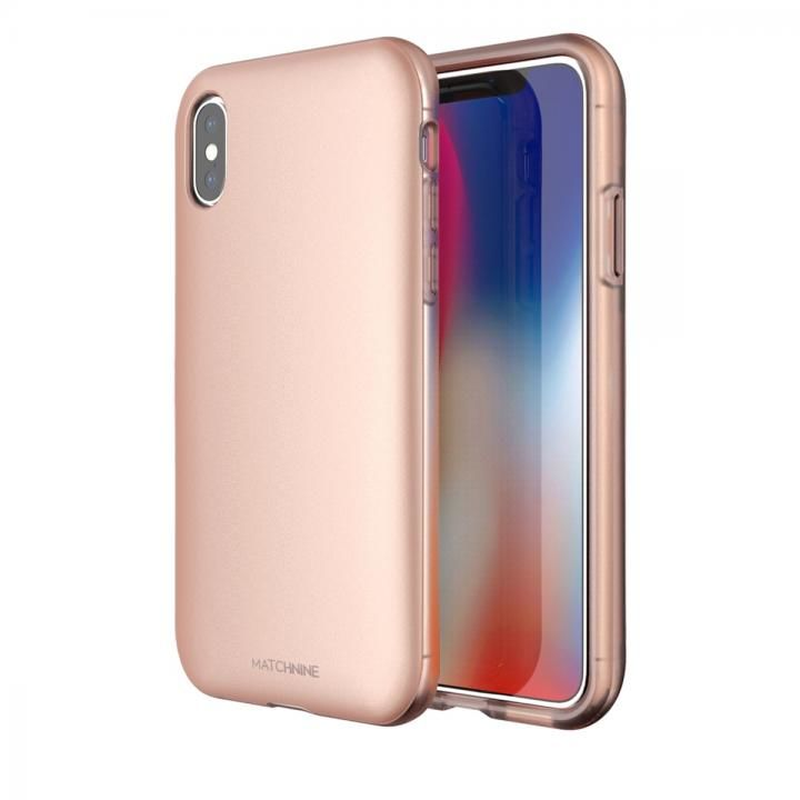 [2018新生活応援特価]Matchnine PINTA ローズゴールド iPhone X