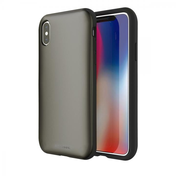 Matchnine PINTA メタリックグレー iPhone X