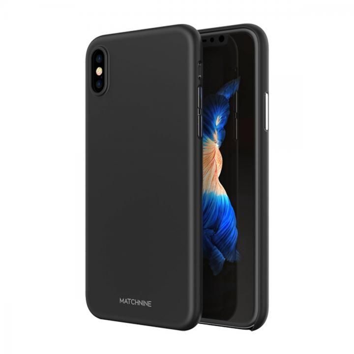 【iPhone Xケース】Matchnine HORI ブラック iPhone X_0