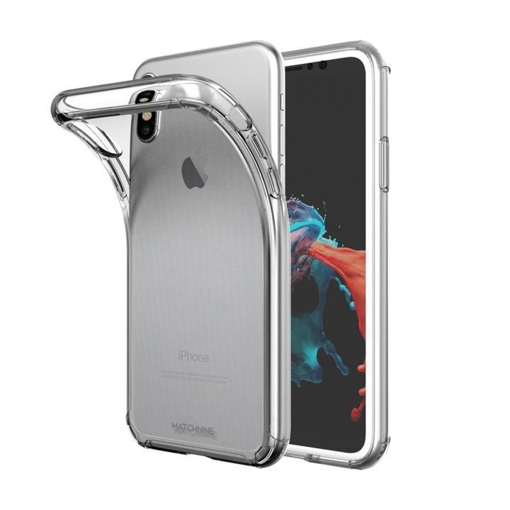 【iPhone XS/Xケース】Matchnine JELLO クリア iPhone XS/X_0