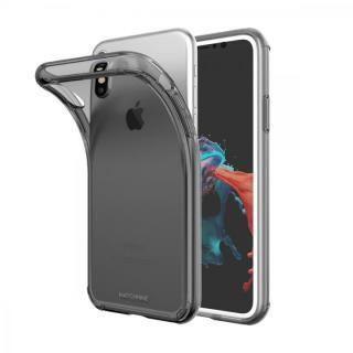 【iPhone XS/Xケース】Matchnine JELLO クリアグレー iPhone XS/X