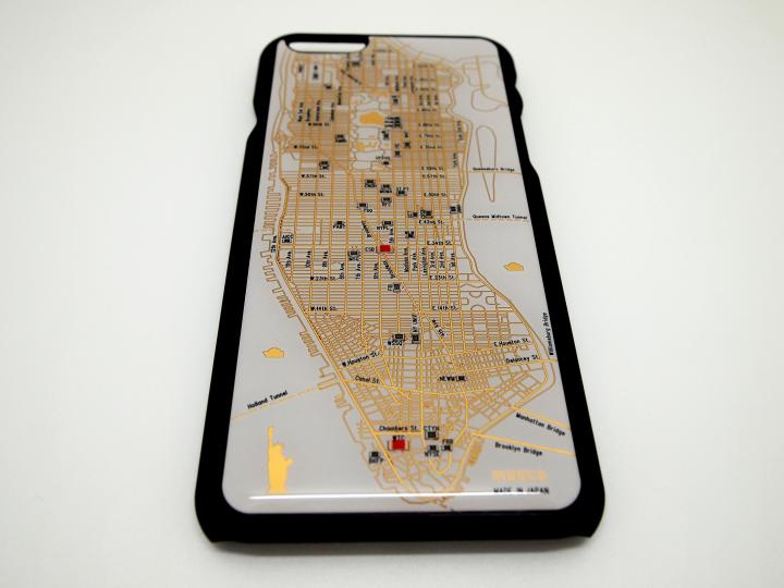 iPhone6 ケース ニューヨーク回路地図 白 iPhone 6ケース_0