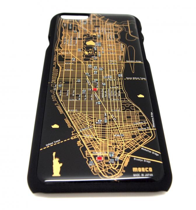 ニューヨーク回路地図 黒 iPhone 6ケース
