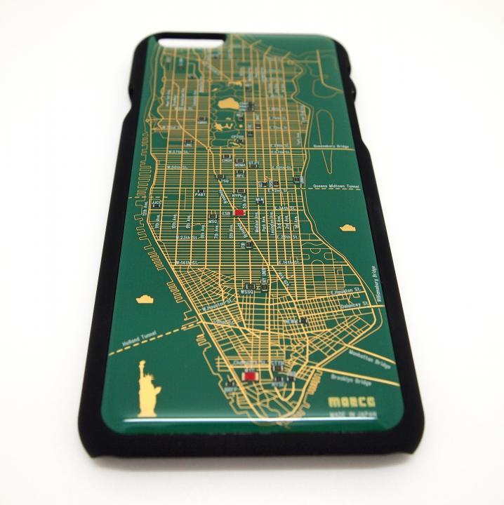 ニューヨーク回路地図 緑 iPhone 6ケース
