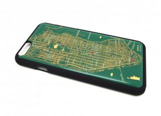 【iPhone6ケース】ニューヨーク回路地図 緑 iPhone 6ケース_1