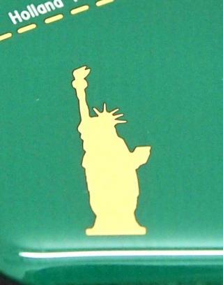 【iPhone6ケース】ニューヨーク回路地図 緑 iPhone 6ケース_4