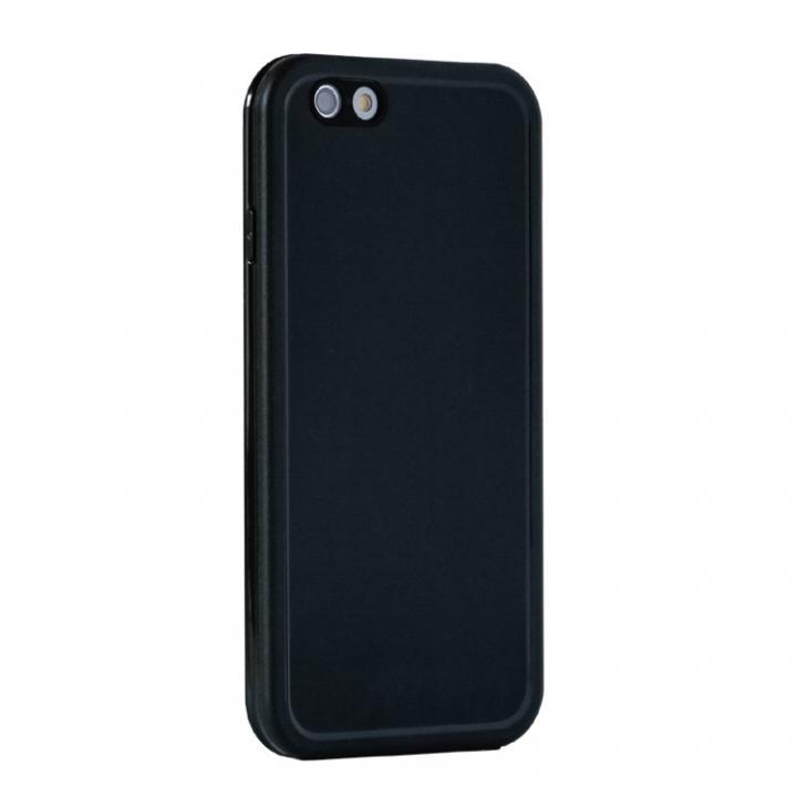 薄い防水ケース JEMGUN Fero ブラック iPhone 6s/6
