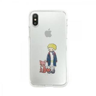 Dparks ソフトクリアケース 星の王子さまキツネ iPhone X【11月下旬】