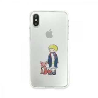Dparks ソフトクリアケース 星の王子さまキツネ iPhone X