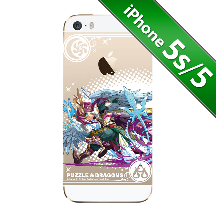 iPhone SE/5s/5 第3回パズドラ総選挙  暗躍の狡知神・ロキ iPhone SE/5s/5ケース_0