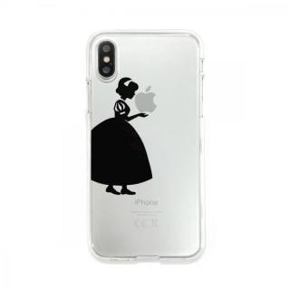 Dparks ソフトクリアケース シルエット白雪姫 iPhone XS/X