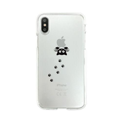 iPhone XS/X ケース Dparks ソフトクリアケース 泥棒ネコ iPhone XS/X_0