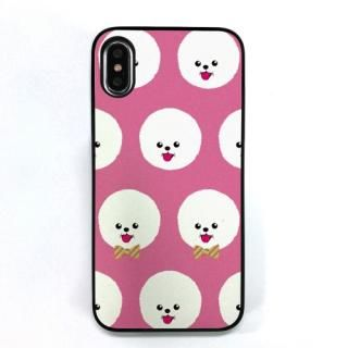 Dparks ブラックケース FashionableDogBichonFrise iPhone X