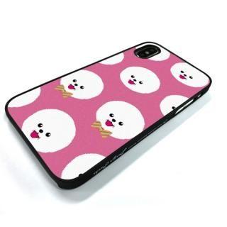 【iPhone XS/Xケース】Dparks ブラックケース FashionableDogBichonFrise iPhone XS/X_2