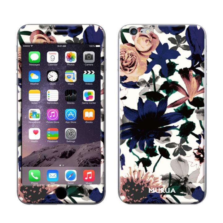 iPhone6s Plus/6 Plus ケース Gizmobies スキンシール Smoky flower iPhone 6s Plus/6 Plusスキンシール_0