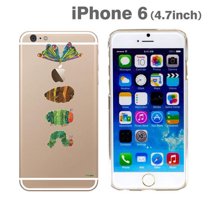 はらぺこあおむしケース せいちょう iPhone 6ケース