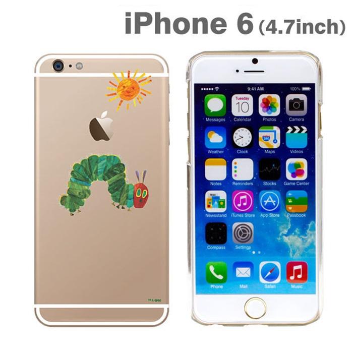 はらぺこあおむしケース あおむしとたいよう iPhone 6ケース