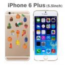 はらぺこあおむしケース たくさんのたべもの iPhone 6 Plusケース