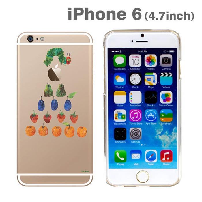 はらぺこあおむしケース たべものぴらみっど iPhone 6ケース
