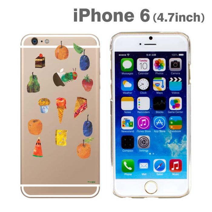 【iPhone6ケース】はらぺこあおむしケース たくさんのたべもの iPhone 6ケース_0
