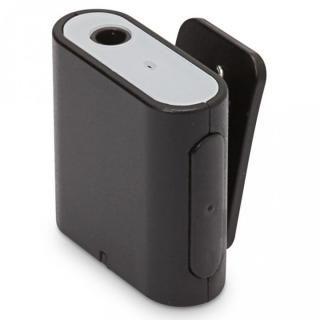 Bluetooth 4.2 搭載 ワイヤレス オーディオレシーバー 1ボタンタイプ ブラック