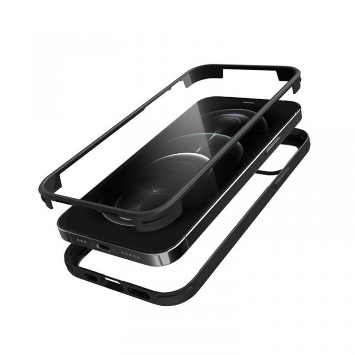シールドカバー ブラック iPhone 12 Pro Max_0
