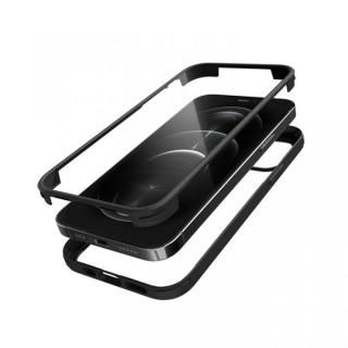 iPhone 12 / iPhone 12 Pro (6.1インチ) ケース シールドカバー ブラック iPhone 12/iPhone 12 Pro