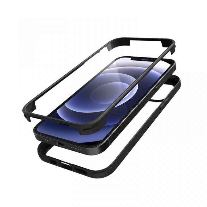 シールドカバー ブラック iPhone 12 mini_0
