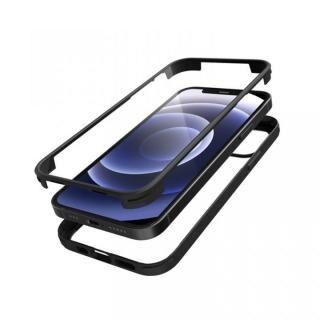 iPhone 12 mini (5.4インチ) ケース シールドカバー ブラック iPhone 12 mini【3月上旬】