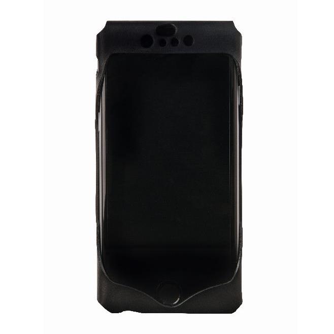 【iPhone6ケース】1枚革から成型したレザーケース Wear ブラック iPhone 6s/6ケース_0