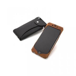 【iPhone6ケース】1枚革から成型したレザーケース Wear キャメル iPhone 6s/6ケース_3