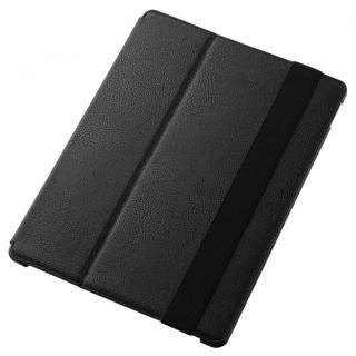 2段階調節スタンド ソフトレザーケース ブラック 12.9インチiPad Pro