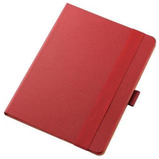 360度調節スタンド ソフトレザーケース レッド 12.9インチiPad Pro