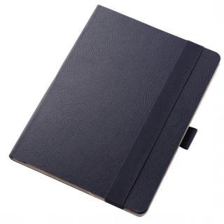 360度調節スタンド ソフトレザーケース ブルー 12.9インチiPad Pro