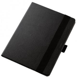 360度調節スタンド ソフトレザーケース ブラック 12.9インチiPad Pro