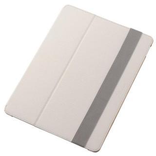 2段階調節スタンド ソフトレザーケース ホワイト 12.9インチiPad Pro