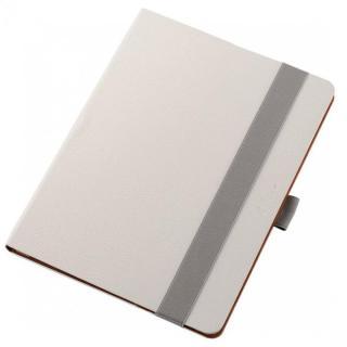 360度調節スタンド ソフトレザーケース ホワイト 12.9インチiPad Pro
