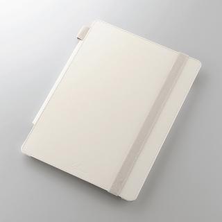 4段階調節スタンド ソフトレザーケース ホワイト 12.9インチiPad Pro
