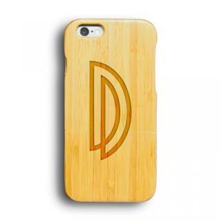 kibaco 天然竹ケース アルファベットD iPhone 6ケース