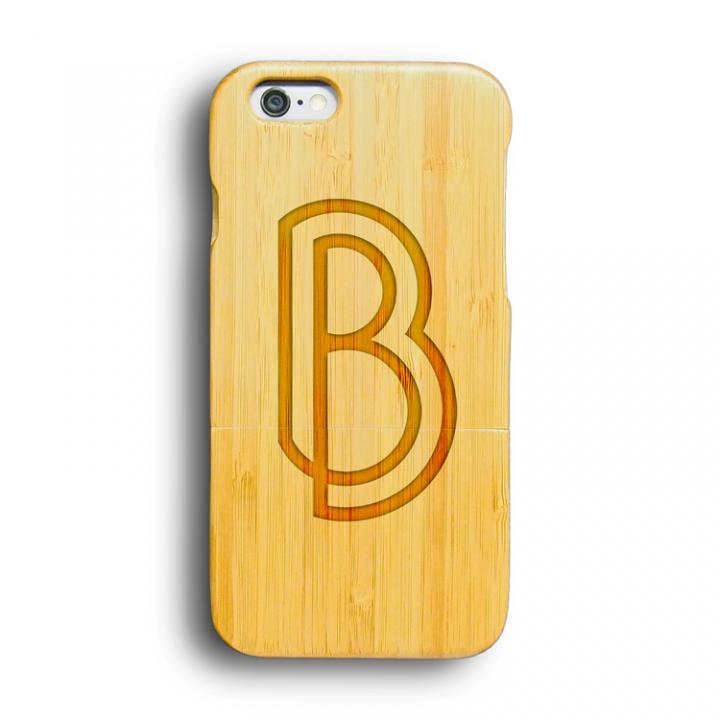 kibaco 天然竹ケース アルファベットB iPhone 6ケース