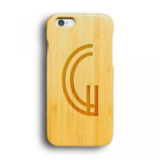 kibaco 天然竹ケース アルファベットG iPhone 6ケース