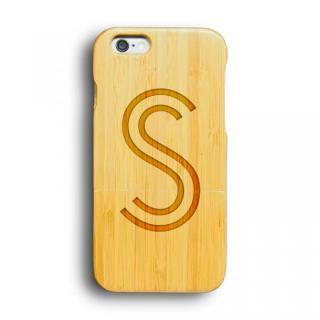 kibaco 天然竹ケース アルファベットS iPhone 6ケース