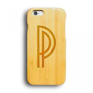 kibaco 天然竹ケース アルファベットP iPhone 6ケース