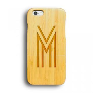 kibaco 天然竹ケース アルファベットM iPhone 6ケース