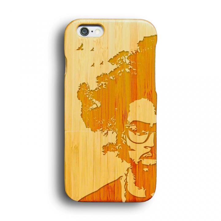kibaco 天然竹ケース アフロツリー iPhone 6ケース