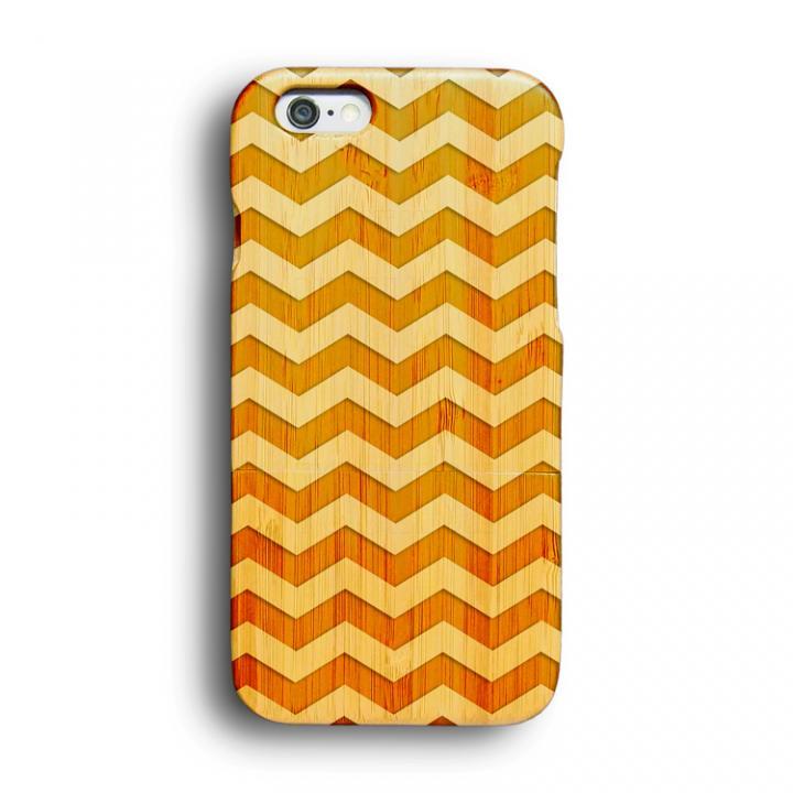 【iPhone6ケース】kibaco 天然竹ケース ジグザグ iPhone 6ケース_0