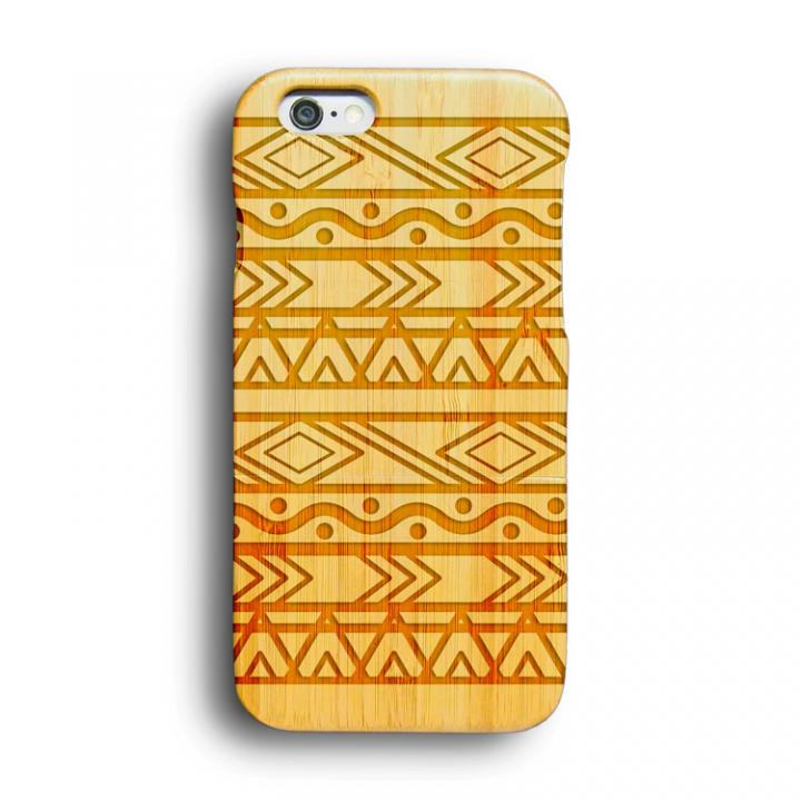 【iPhone6ケース】kibaco 天然竹ケース アフリカン iPhone 6ケース_0
